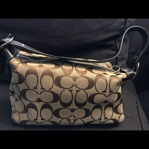 Authentic tan COACH purse